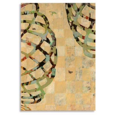 Twist III 22-Inch x 32-Inch Wood Wall Art