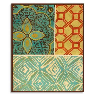 Common Threads II 15-Inch x 18-Inch Wood Wall Art