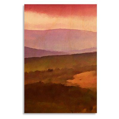 Vivid Landscape I 17-Inch x 25-Inch Wood Wall Art
