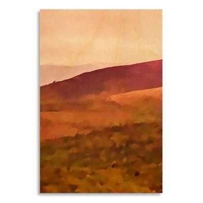 Vivid Landscape III 17-Inch x 25-Inch Wood Wall Art