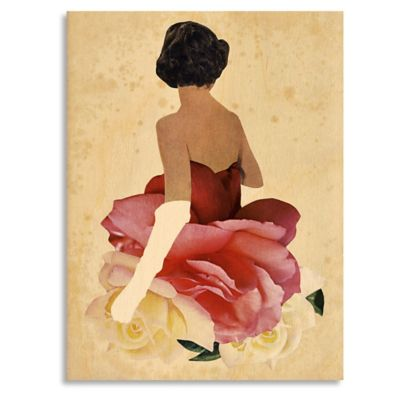 May Queen 14-Inch x 18-Inch Wood Wall Art