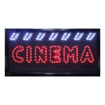 "LED Movies ""Cinema"" Sign Wall Decor"