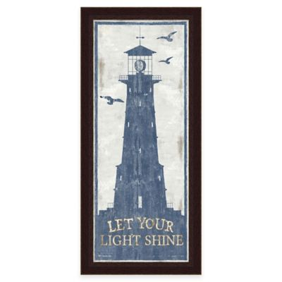 Framed Lighthouse 1 Wall Art