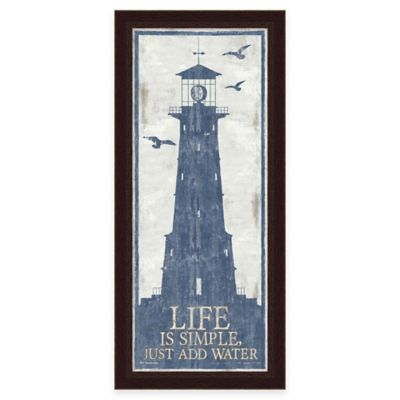 Framed Lighthouse 3 Wall Art
