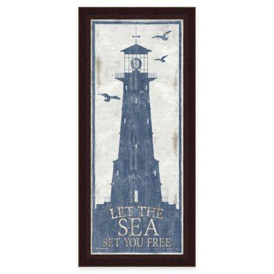 Framed Lighthouse 4 Wall Art