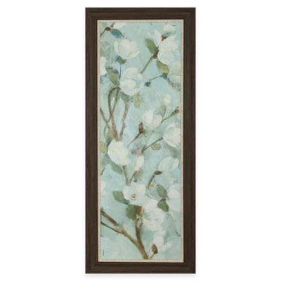 Magnolia Framed Wall Art in Teal