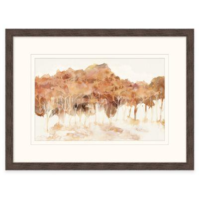 Framed Giclée Tree Line Wall Art