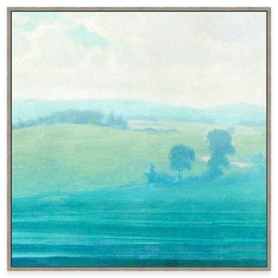 Framed Giclée Countryside View Wall Art