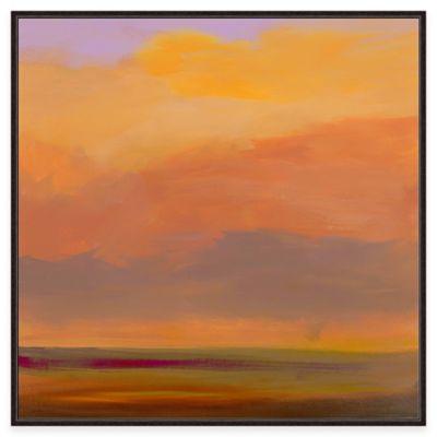 Framed Giclée Sundown Wall Art
