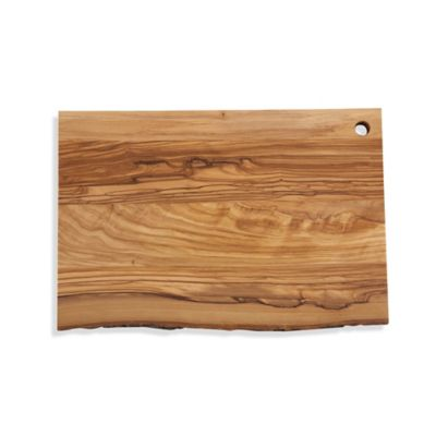 Olive Wood 14-Inch x 9-Inch Oblong Cutting Board