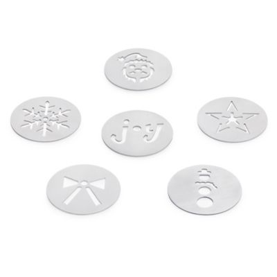 OXO Good Grips® 6-Piece Christmas Cookie Press Disk Set