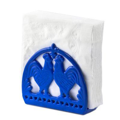 Blue Napkin Holder
