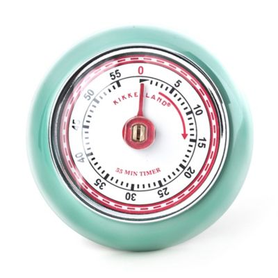 Kikkerland® Design Retro Magnetic Timer