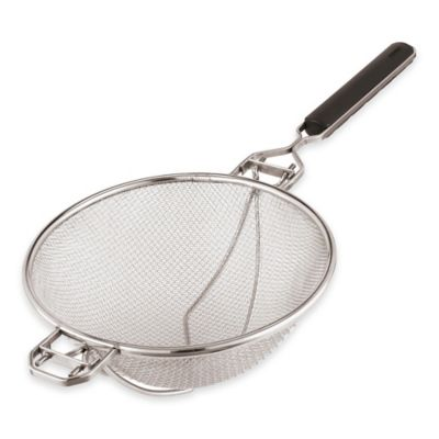 Paderno® Reinforced Stainless Steel 9-Inch Strainer
