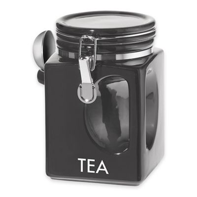 "Oggi™ EZ Grip 40 oz. ""Tea"" Ceramic Canister"