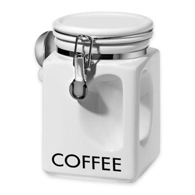 "Oggi™ EZ Grip 40 oz. ""Coffee"" Ceramic Canister"