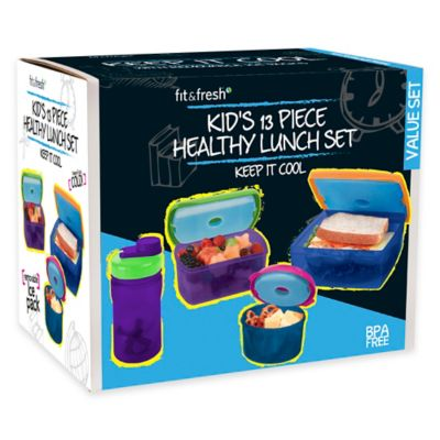 Fit and Fresh® Lunch Set with Jaxx Bottle