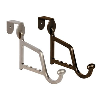 Spectrum™ Duchess Over The Door Hanger Holder in Satin Nickel