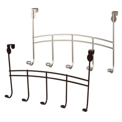 Spectrum™ Duchess Over the Door 5-Hook Rack in Bronze