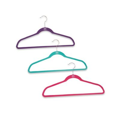 Joy Mangano Huggable Hangers® 10-Pack Suit Hangers in Teal