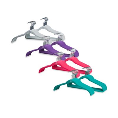 Joy Mangano Huggable Hangers® 40-Pack Suit and Shirt Hangers in Teal