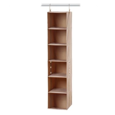 [closetMAX]® SYSTEM™ 6-Shelf Sweater Organizer in Taupe