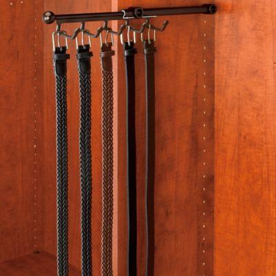 Rev-A-Shelf® 5-Hook Belt and Scarf Organizer in Oil-Rubbed Bronze