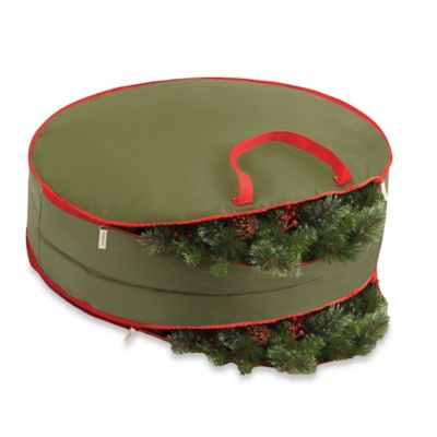 Real Simple® 36-Inch Double-Sided Holiday Wreath Storage Bag