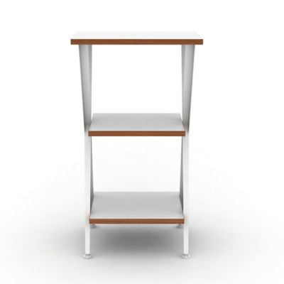 3-Tier Genius Compact Shelf Kit in White