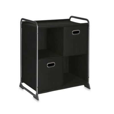 4-Cube Organizer with Two Drawers