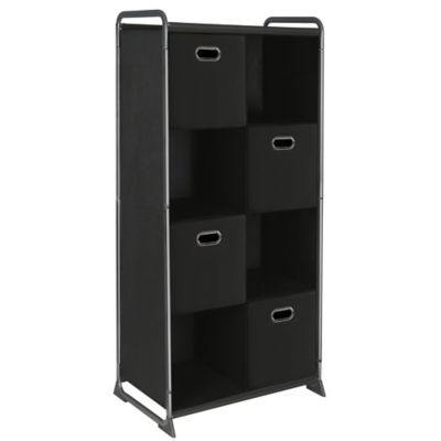 8-Cube Organizer with Four Drawers