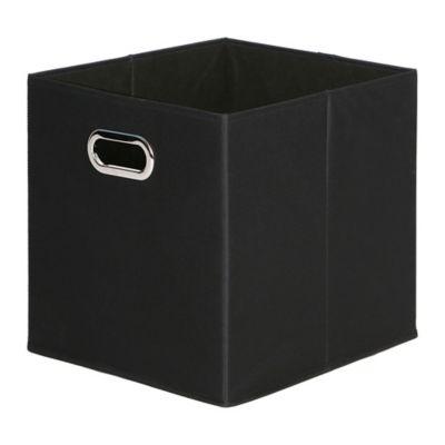 EasyHome MFG. Storage Bin in Black