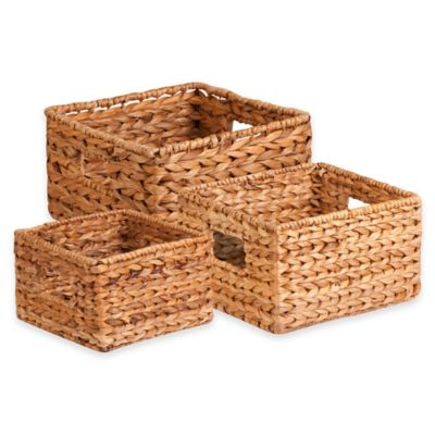 Beige Decorative Baskets
