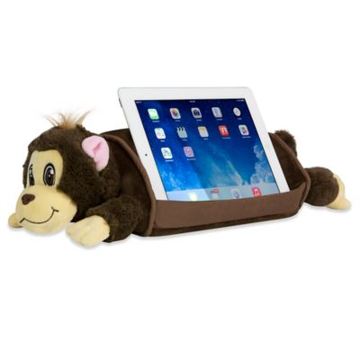 Lap Pet Monkey Tablet Cradle in Brown