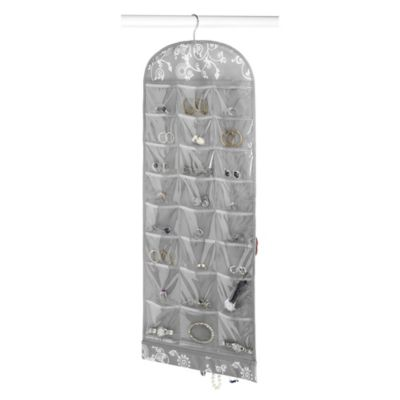 Hanging Jewelry Organizer With Pockets