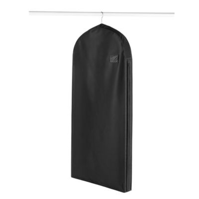 Whitmor Deluxe Garment Bag in Black