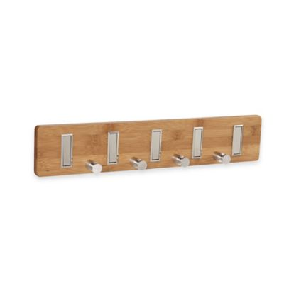 Household Essentials® 5-Hook Wall Key Holder/Coat Rack