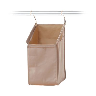 [closetMAX]® SYSTEM™ Hanging Laundry Hamper in Taupe