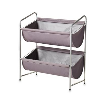 2-Tier Big Bin in Silver