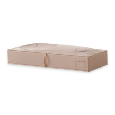 [closetMAX]® SYSTEM™ Underbed Storage Bag in Taupe
