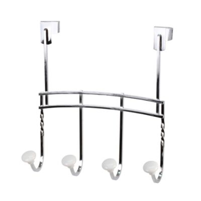 Spectrum™ Cambridge Over-the-Door 4-Hook Rack
