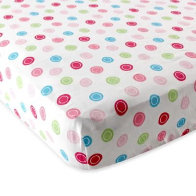 BabyVision® Luvable Friends® Fitted Pack 'n Play Sheet in Pink Geometric