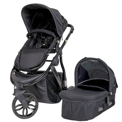 Muv GAAN 3-Wheel Stroller in Black/Black