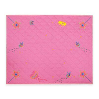 Dexton Fengi Princess Floor Quilt in Pink