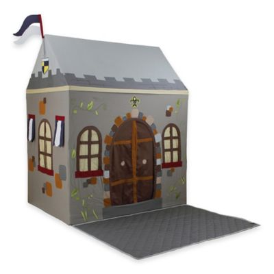 Dexton Toadi Castle Small Playhouse with Floor Quilt