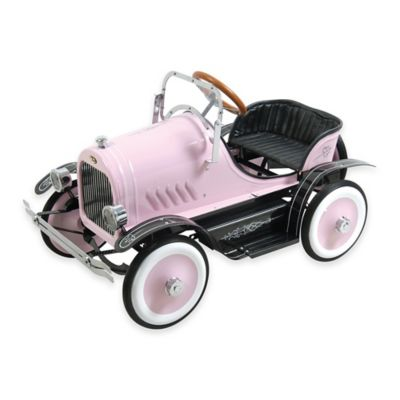 Dexton Deluxe Roadster Ride-On in Pink