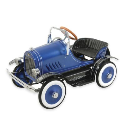 Dexton Deluxe Roadster Ride-On in Blue