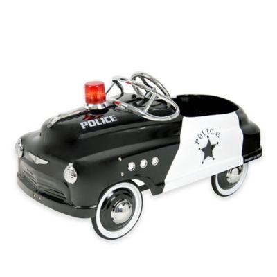 Dexton Police Comet Sedan Ride-On