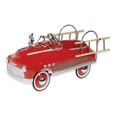Dexton Fire Fighter Comet Sedan Ride-On