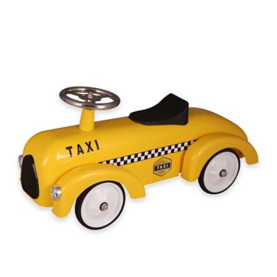 Dexton Taxi Cab Ride-On Racer
